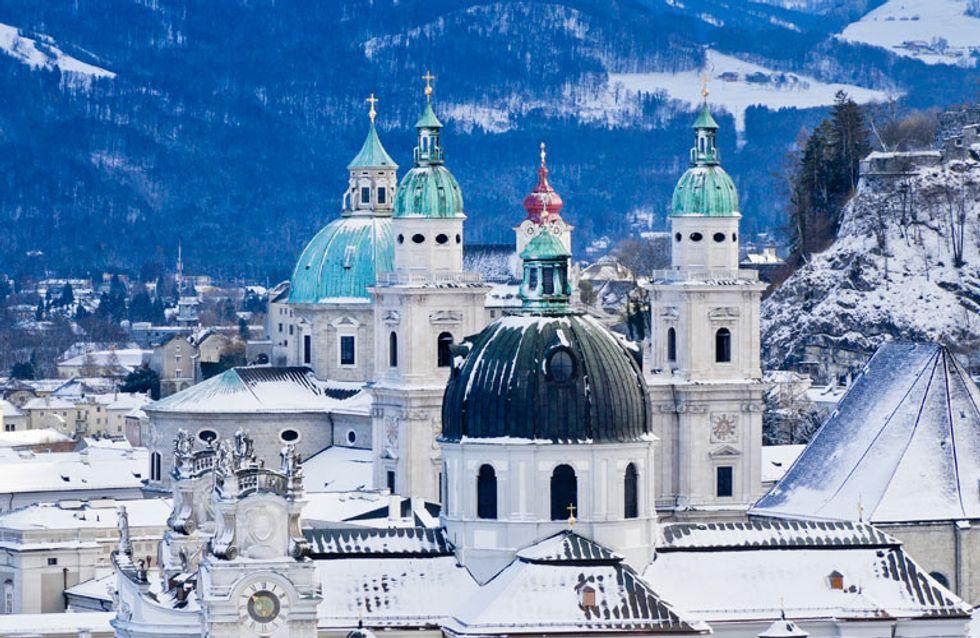 Locuri unde ninge: cele mai frumoase orase acoperite de zapada din lume
