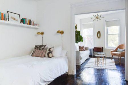Idei de dormitor mic pentru maximizarea spatiului si stilului