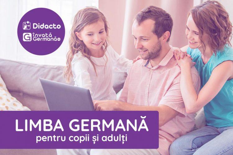 Limba germană pentru copii și adulți – o investiție pentru propriul viitor